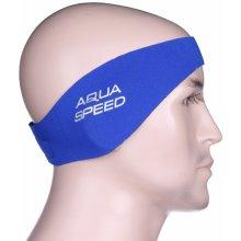 Aqua-Speed Ear Neo koupací čelenka senior modrá