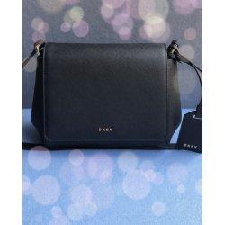 9d63020769 DKNY Bryant Park černá kožená crossbody kabelka