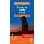 Záhadná místa Česka cestovní mapa