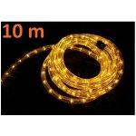 Světelný kabel 10 m žlutá, 360 minižárovek