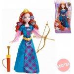 MATTEL Disney Princezna Merida panenka s vlásky k nazdobení a vybarvení