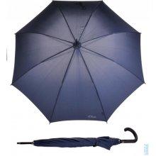 Holový vystřelovací deštník City Uni Automatic 71461SO300 tm. modrý