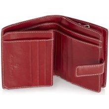 Castelijn & Beerens Dámská kožená peněženka 395420 červená