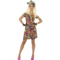 Karnevalový kostým Šaty na party 80 léta 4d00993d35