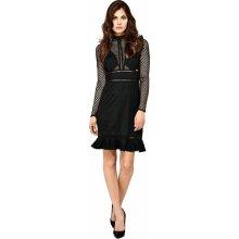 Guess dámské šaty Jacqueline A996 černá 05a85b586e9