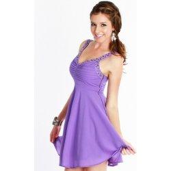 Agnes Lilac Dress svěží krátké šaty na letní slavnost alternativy ... d296265c0a2