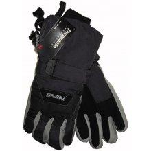 Mess pánské lyžařské rukavice tmavě šedé 08340acdd7