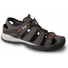 VM SINGAPORE 4625-25 sandál outdoor kožený v kombinaci s textilem