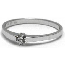 bd8d2d80a Dámský zásnubní prsten s přírodním diamantem J-21540-12