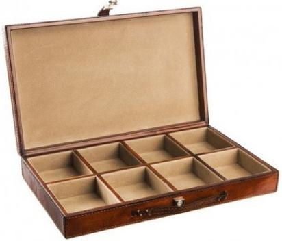 Kožená krabice na kravaty a šperky GREGOR 35e8b5a2f4