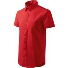 pánské Shirt short sleeve 207 nebesky modrá
