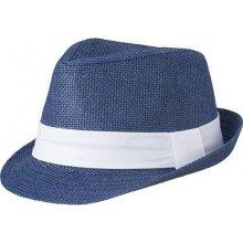 Letní klobouk MB6564 Tmavě modrá   bílá d6feda7650