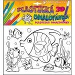 Plastická omalovánka rybky 10026 29x27cm