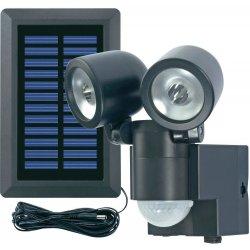 Solární svítidlo Duo černé