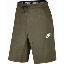 Nike NSW AV15 FLC short 861748-063 Šedé d68f1f142a