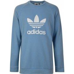 Dámská mikina Adidas Originals Trefoil Sweatshirt modrá 488a544e21