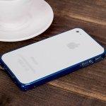 Pouzdro LOVE MEI tl. 0,7 mm Apple iPhone 4 / 4S - světle modré
