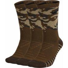 616c76501b2 Nike ponožky Everyday Max Cushion Camo Crew 3 Pack - 395 Olive  Canvas Neutral