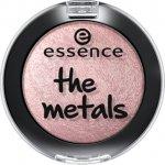 ESSENCE oční stíny the metals 6 rose razzle-dazzle růžové 4 g