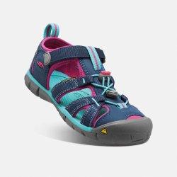 Dětská bota Keen Seacamp II Cnx 1014127 Poseidon Verry Berry 1c37e87ed2