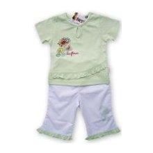 Letní komplet kalhot a trička s krátkým rukávem Tulec Trend