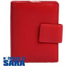 Arwel Dámská kožená peněženka 511 5937 červená