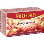 MILFORD Čaj ovocný Třešeň + banán 20 x 2,5 g
