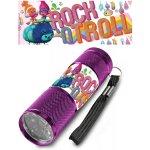 EUROSWAN LED baterka Trollové ROCK Hliník 9x2,5 cm