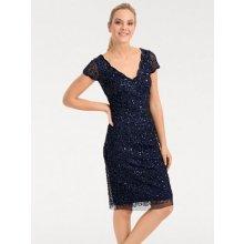 Ashley Brooke by heine koktejlové šaty s flitry indigová modrá b92132c156