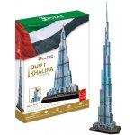 HM Studio 3D puzzle Burj Khalifa 136 dílků