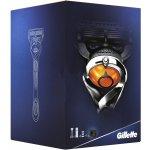 Gillette Fusion Proglide Flexball holící strojek + náhradní hlavice 3 ks + Fusion Proglide Sensitive Active Sport gel na holení 170 ml dárková sada
