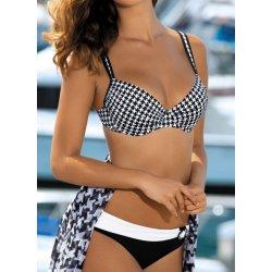 Feba F01303 dvoudílné plavky černá-bílá - Nejlepší Ceny.cz fa96934b1b