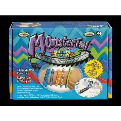 Rainbow Loom Bands Sada Monster Tail 600ks