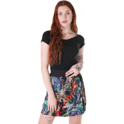 Barevná balounová sukně Laura se zvířecím potiskem