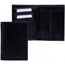 Hellix Kožená pánská peněženka P 1206 černá