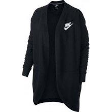 Nike NSW RALLY CARDIGAN RIB černá