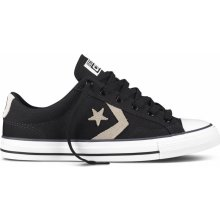 Converse Star Player Black/Old Silver