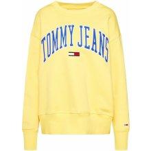 cb0643b0a2bd Tommy Jeans Classic Logo Crew modrá   žlutá