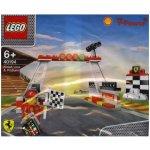 Lego Shell Ferrari 40194 Cílová rovinka a pódium