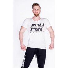 Nebbia Pánské tričko AW Top 127 bílé