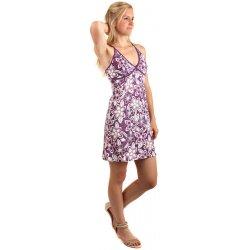 Letní krátké květované šaty s úzkými ramínky 140974 fialová od 280 ... d581c6c6df