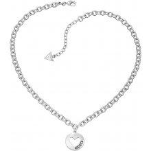 Guess Romantický náhrdelník se srdíčkem UBN51430