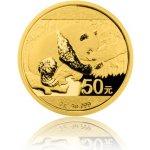 Panda Zlatá investiční mince 50 Yuan 3 g