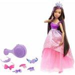 Mattel Barbie vysoká princezna s dlouhými vlasy brunetka Barbie
