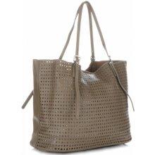 David Jones dámská kabelka s kosmetikou ažurová Khaki 9dbd9150166