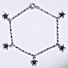Swarovski krystaly bermuda blue, hvězda, R 1326