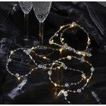 Star Trading Světelný LED řetěz White pearls