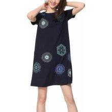 32d022d52779 Desigual šaty s mandalami Vest Liricaa tmavě modrá