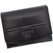 Emporio Valentini 563 586 dámská kožená peněženka černá
