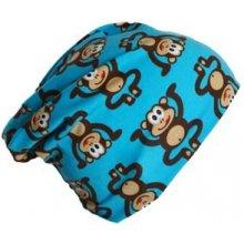 Čepice modré opičky- jednovrstvá